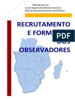 Recrutamento e Formacao dos Observadores_SADCESN_PR