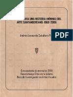 Apuntes para una Historia Mínima del Arte Santandereano - Leonardo Caballero Piza