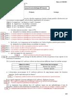 Corrigé type final de lexamen de  microbiologie 2015