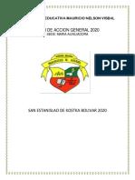 PLAN DE ACCION 2020 MARIA AUXILIADORA PDF JORNADA UNIFICADA MAÑANA Y TARDE (1)