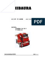 Buku Spare part pompa shibaura 745 M