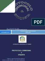Etica e Protocolo