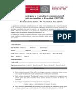 CUESTIONARIO ATENCIÓN DIVERSIDAD (CECPAD)