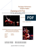 Dancing With Fire Poster 2011