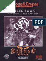 Diablo II rulebook RUS
