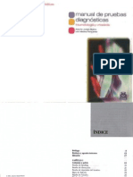 Manual De Pruebas Diagnosticas en Traumatologia & Ortopedia