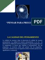 7ª CLASE EL PODER DE LAS PREGUNTAS ESENCIALES