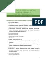 EXCEPCIONES AL CIERRE ADELANTADO A LAS 18H