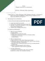 Lesson 4 Philosophy & Dimensions of Public Ad