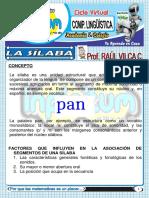 LA SÍLABA - 1