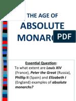 Absolute MonarchsACST16