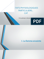 4-CAT ETATS PHYSIOLOGIQUES PARTICULIERS(1)