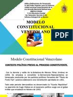 MODELO CONSTITUCIONAL VENEZOLANO