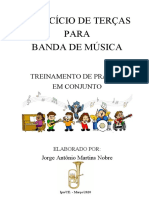 EXERCÍCIO DE TERÇAS - Jorge Nobre - Horn MIb
