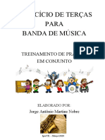 EXERCÍCIO DE TERÇAS - Jorge Nobre - Sax Ato
