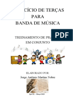 EXERCÍCIO DE TERÇAS - Jorge Nobre - Sax Tenor