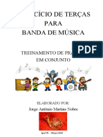 EXERCÍCIO DE TERÇAS - Jorge Nobre - Trompa FA