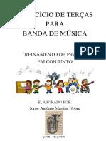EXERCÍCIO DE TERÇAS - Jorge Nobre - Tuba