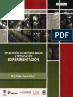 Aplicacion de metodologias y tecnicas de experimentacion