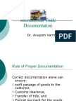 International trade Documentation