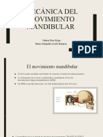 Mecánica del movimiento mandibular