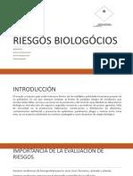 RIESGOS BIOLOGÓCIOS