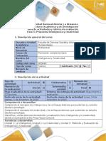 Guía de actividades y rubrica de evaluación Fase 5 - Propuesta Inteligencia y creatividad.docx.pdf