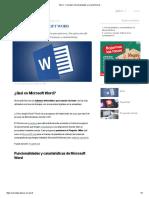 Word - Concepto, funcionalidades y características.pdf