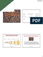 Structure er identification des sols