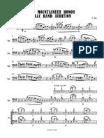 2021 Mountaineer Jazz Honor Band TROMBONE - Full Score