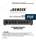joe meek VC3Q manual