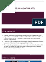 Create a website using google sites.pdf