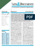 Le numéro 98 en pdf - Faits & Documents.pdf