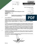 Solicitud del congresos Ricardo Burga pidiendo devolución de productos vencidos