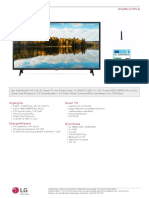 43LM6300 TV
