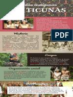 Infografía Los Ticunas
