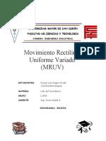 Lab fis tema 7 MRUV laboratorio