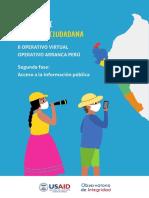 Operativo Arranca Perú - segunda fase