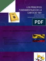 Los principios fundamentales de la carta de 1991