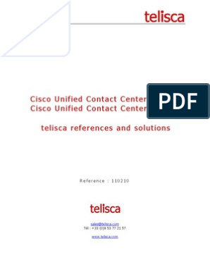 Call Center Solutions for Cisco UCCE UCCX by Telisca | Call