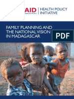 Family Planning and the National Vision in Madagascar - 2005