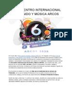 6to Encuentro Internacional de Sonido y Música