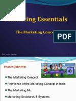 Lecture 1.2- Mktg. concept,mix