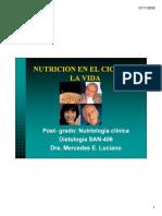 NUTRICION EN EL CICLO DE LA VIDA [Modo de compatibilidad]