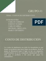 Costos de distribución  diapositivas