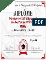 Management Stratégique et intelligence économique