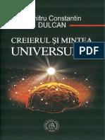 Constantin Dulcan - Creierul si mintea universului (A5)