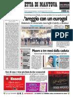 Gazzetta Di Mantova 13 Dicembre 2009
