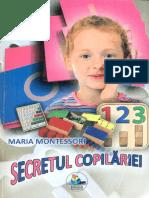 Maria Montessori - Secretul copilariei