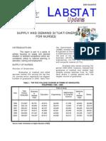 dole.nurse supply and demand